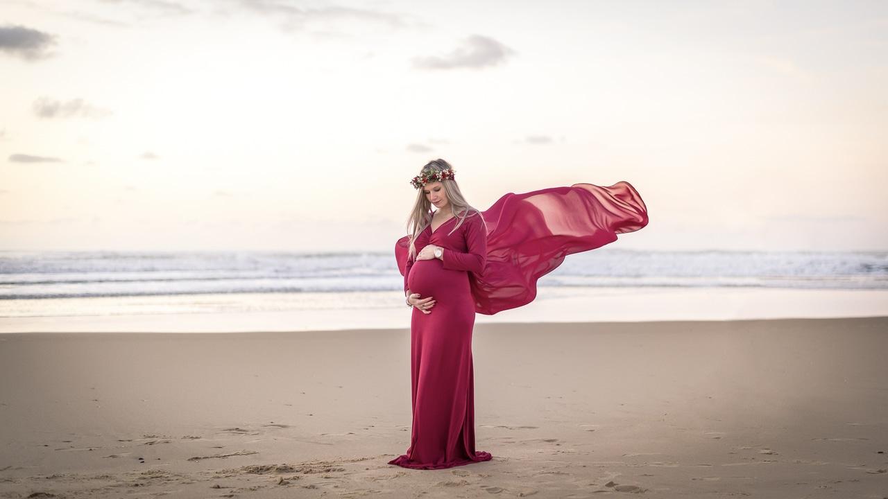Séance grossesse au Cap-Ferret