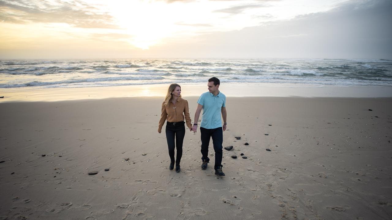 Séance Engagement à la plage